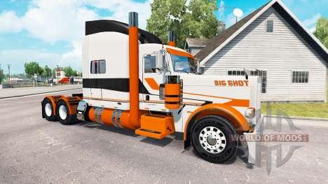 Skin Big Shot on the truck Peterbilt 389 for American Truck Simulator