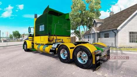 Guzman Express skin for the truck Peterbilt 389 for American Truck Simulator