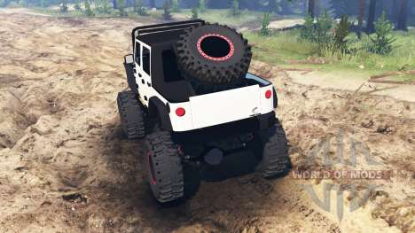 Jeep Wrangler [rattle trap] for Spin Tires