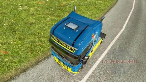 Tomka skin for Scania truck for Euro Truck Simulator 2