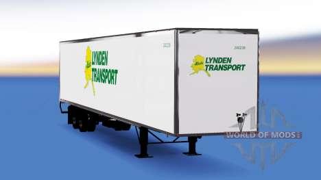 All-metal semi-Lynden for American Truck Simulator
