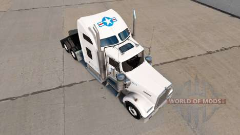 Skin for USA Truck truck Kenworth W900 for American Truck Simulator