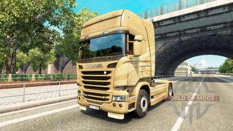 Skin on 50th Anniversary tractor Scania for Euro Truck Simulator 2