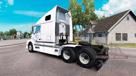 Celadon skin for Volvo truck VNL 670 for American Truck Simulator