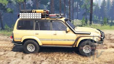 Toyota Land Cruiser 80 VX 1990 for Spin Tires