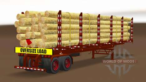A collection of trailers USA v2.0 for American Truck Simulator