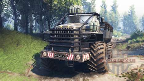 Ural-4320 [grizzly] v3.0 for Spin Tires