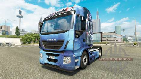 Skin Mass Effect for truck Iveco Hi-Way for Euro Truck Simulator 2