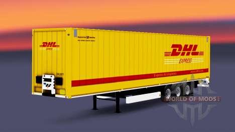 Semitrailer Krone Dryliner for Euro Truck Simulator 2