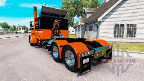 Iwona Blecharczyk skin for the truck Peterbilt 3 for American Truck Simulator
