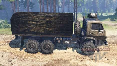 KamAZ-4310 [military] v2.0 for Spin Tires