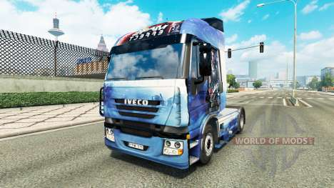 Mass Effect skin for Iveco tractor unit for Euro Truck Simulator 2