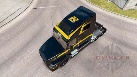 Skin on Groupe Robert truck Volvo VNL 670 for American Truck Simulator
