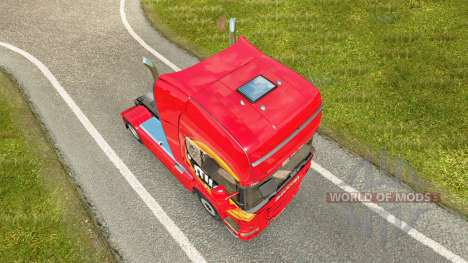 Mezzo Mix skin for Scania truck for Euro Truck Simulator 2