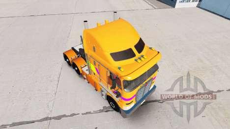 Skin Multicolor tractor Kenworth K200 for American Truck Simulator