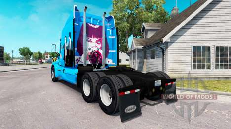 Pulp Fiction skin for the truck Peterbilt for American Truck Simulator
