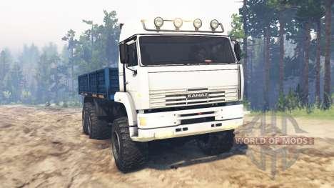 KamAZ-65221 v2.0 for Spin Tires