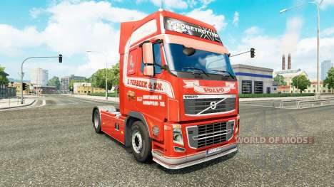 S. Verbeek skin for Volvo truck for Euro Truck Simulator 2