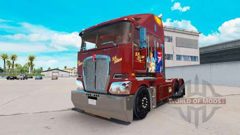 Skin RM Williams on tractor Kenworth K200 for American Truck Simulator