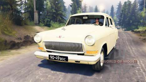 GAZ-21 v3.0 for Spin Tires