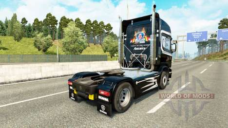 Skin Scania Trucking for tractor Scania for Euro Truck Simulator 2