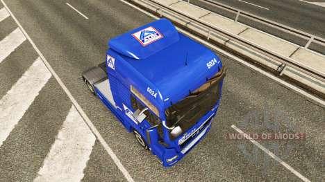 Aldi skin for MAN truck for Euro Truck Simulator 2