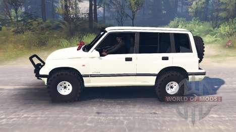 Suzuki Grand Vitara v2.0 for Spin Tires