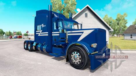 TransWest skin for the truck Peterbilt 389 for American Truck Simulator