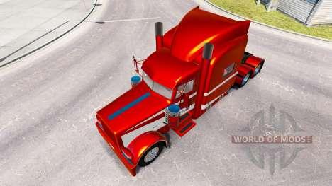 6 Metallic skin for the truck Peterbilt 389 for American Truck Simulator