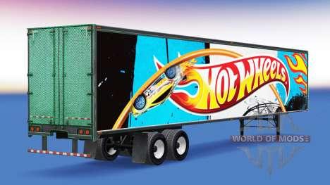 All-metal semi-Hot Wheels for American Truck Simulator