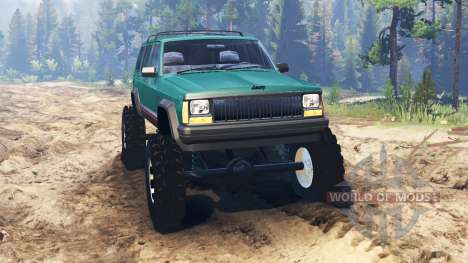 Jeep Cherokee XJ 1996 for Spin Tires
