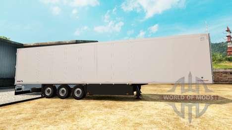 Refrigerated semi-trailer Schmitz Cargobull for Euro Truck Simulator 2