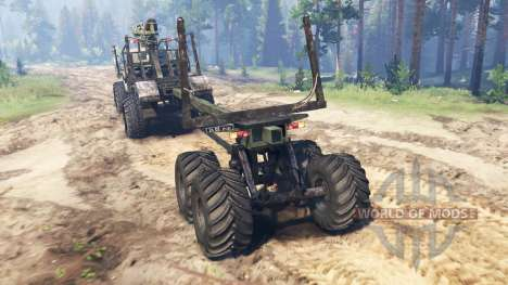 Ural-43206 [hurricane] for Spin Tires