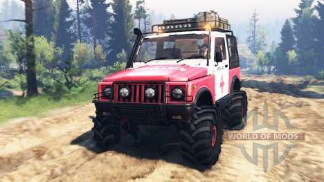 Suzuki SJ 410 v2.0 for Spin Tires