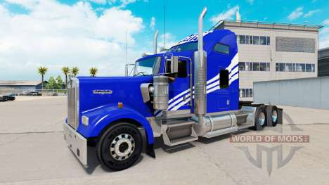 Skin White Castle on the truck Kenworth W900 for American Truck Simulator