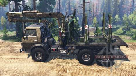 KamAZ-4310 [military] v3.0 for Spin Tires
