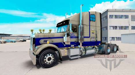 Skin Leavitts on the truck Freightliner Classic  for American Truck Simulator