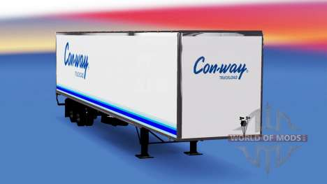 All-metal semi-trailer Conway for American Truck Simulator