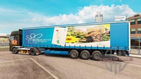 Skin BUGA 2015 for semi for Euro Truck Simulator 2