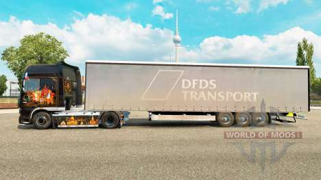 Semitrailer Krone Paperliner for Euro Truck Simulator 2