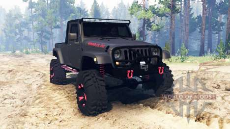 Jeep Wrangler JK8 for Spin Tires