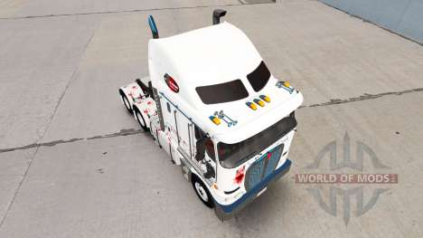 Skin Zombie Hunter v2.0 tractor Kenworth K200 for American Truck Simulator