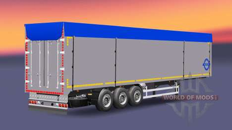 A collection of trailers with different loads v2 for Euro Truck Simulator 2
