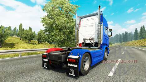 France skin for Scania truck for Euro Truck Simulator 2