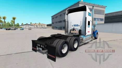 Skin Swift on the truck Kenworth W900 for American Truck Simulator