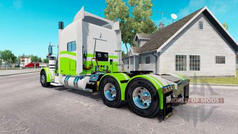 7 Custom skin for the truck Peterbilt 389 for American Truck Simulator