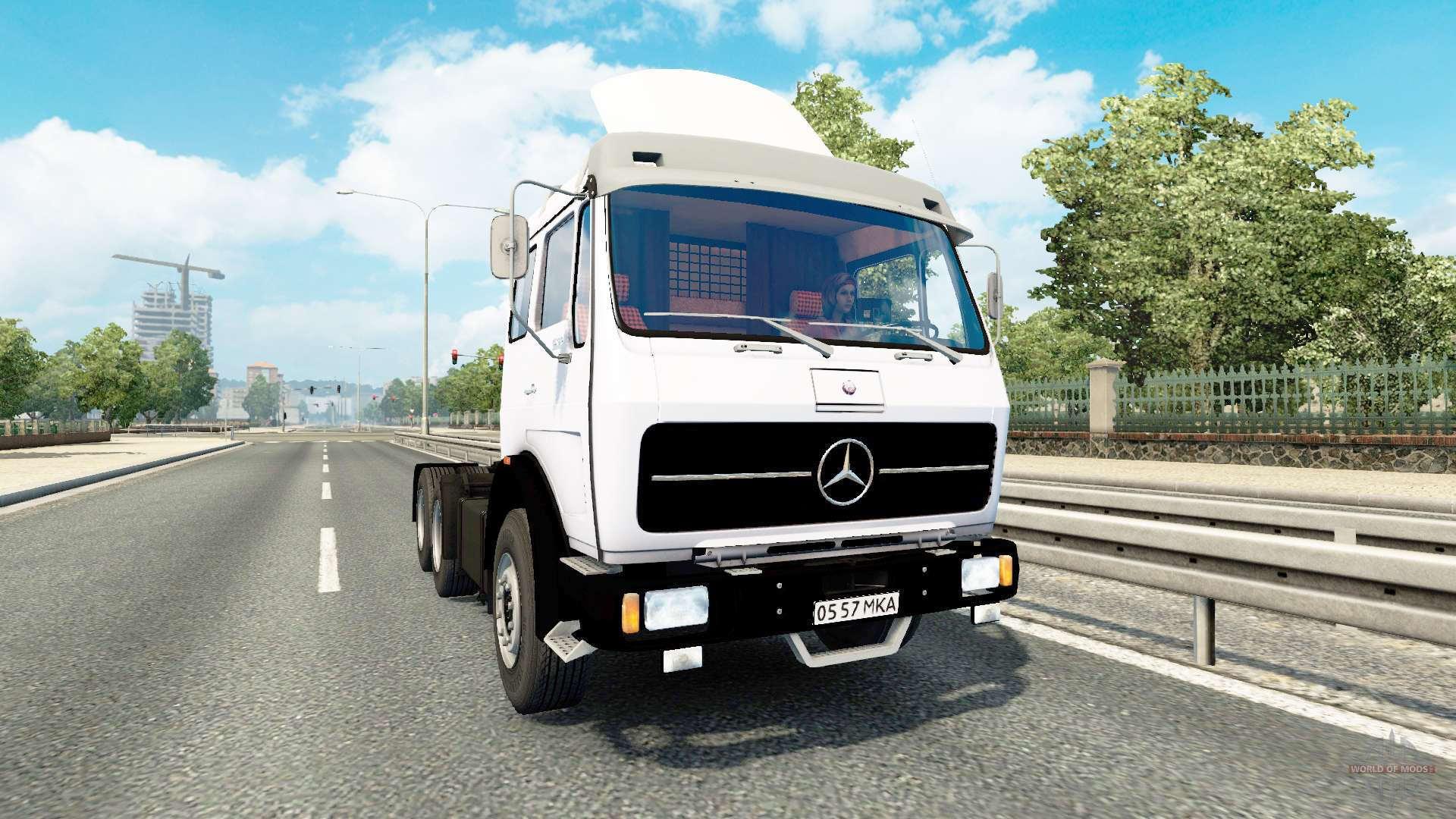 mercedes benz 1632 for euro truck simulator 2