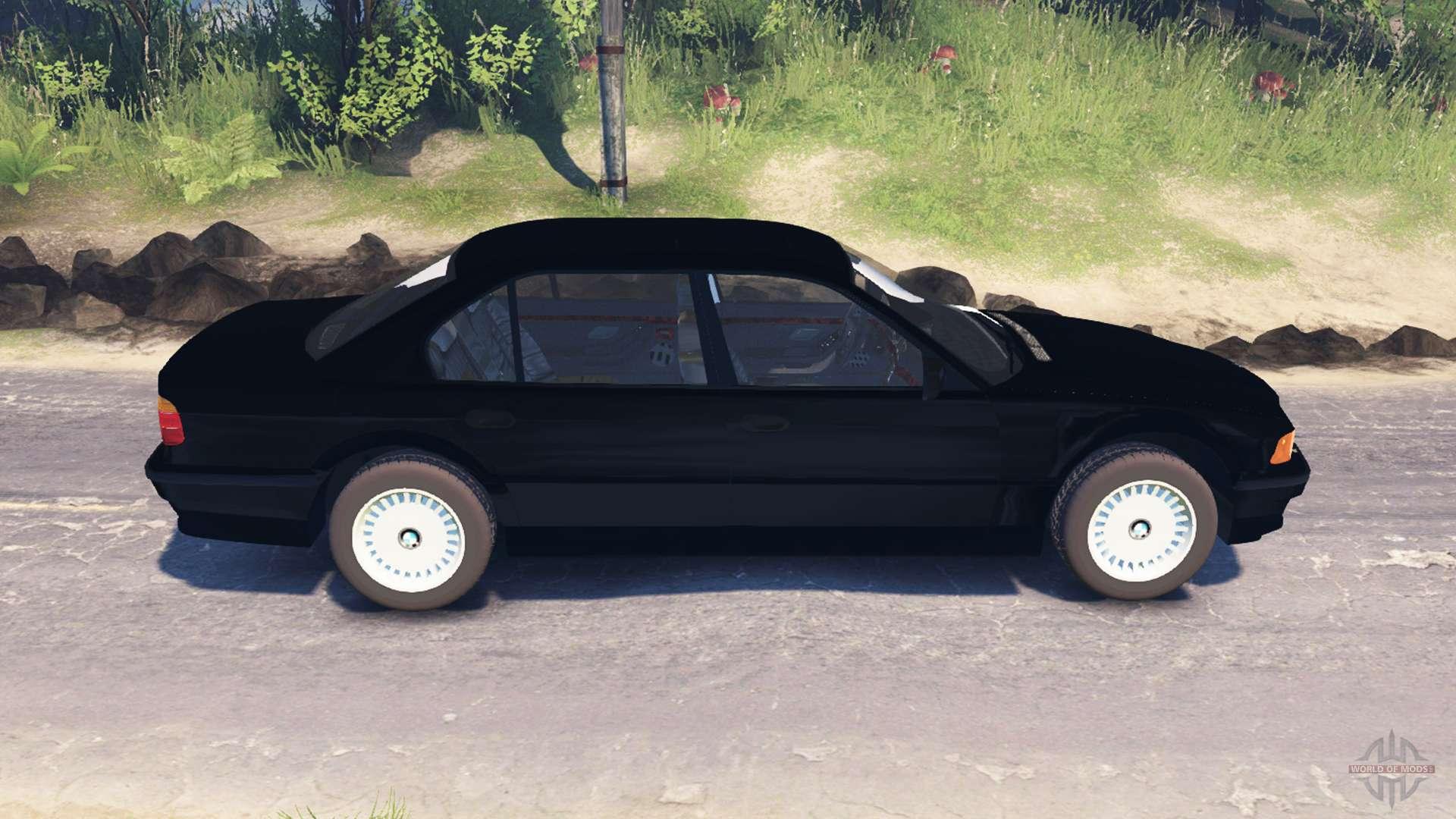 750Li E38 v20 for Spin Tires