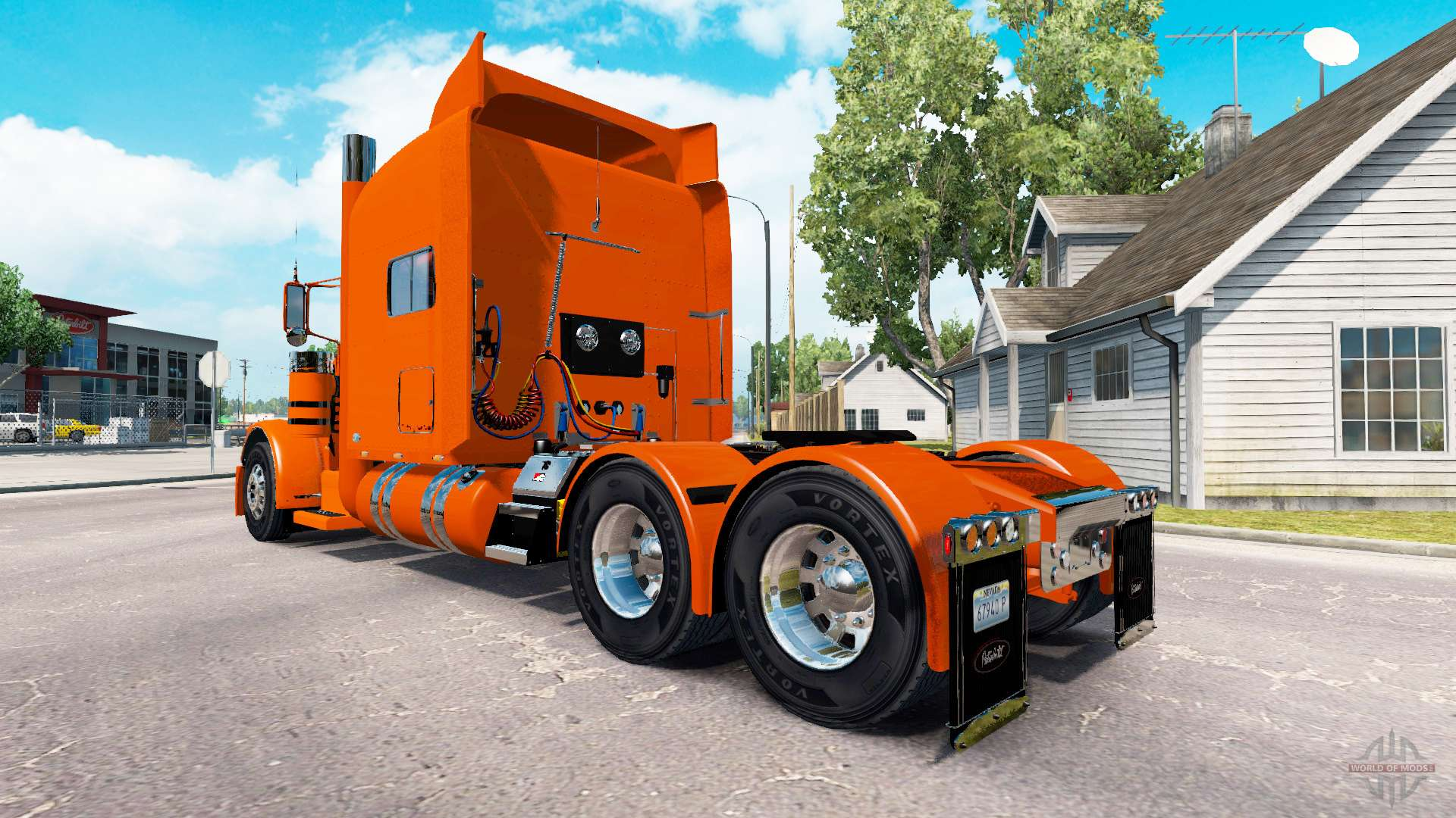 Skin YRC Freight for the truck Peterbilt 389 for American Truck