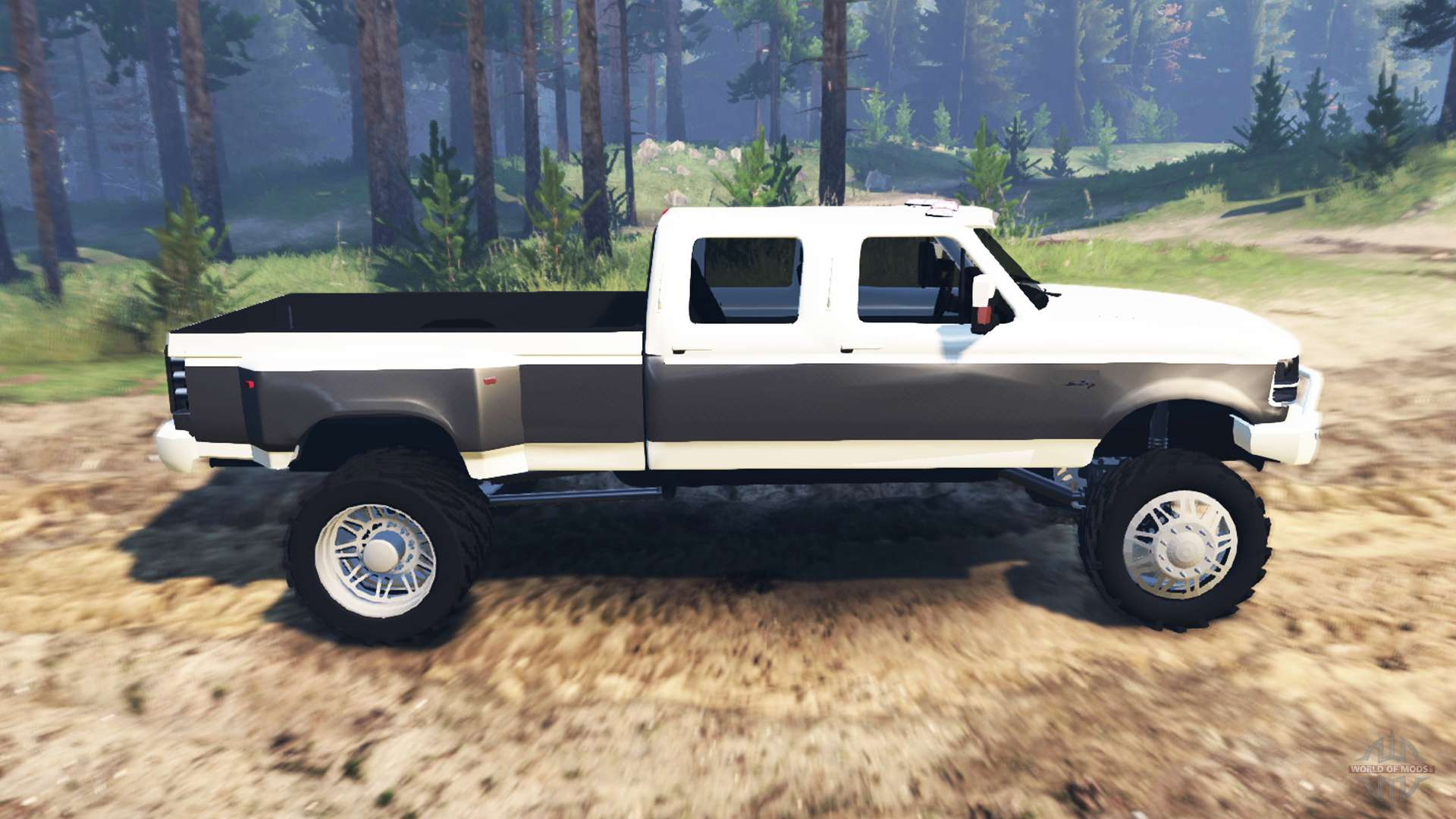 Ford F-350 OBS Dually 1994 for Spin Tires
